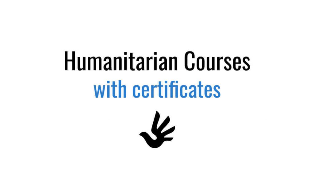 Certificate In Disaster Risk And Humanitarian